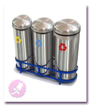 وحدة إعادة التدوير-صناديق فصل القمامة